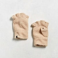 UO Fingerless Sherpa Glove | Urban Outfitters