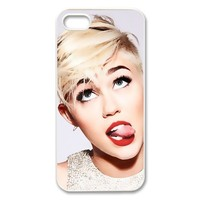 Customized Miley Cyrus Hard Case for Apple IPhone 5/5S