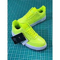 Nike Air Force 1 Low Af1 07 Lv8 Patent Leather Pack Green Aj9505-700 Sport Shoes Sneakers