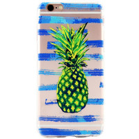 Cute Pineapple Printed Case for iPhone