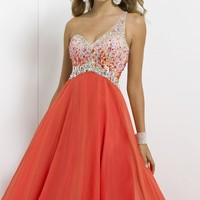 One Shoulder Gown by Blush by Alexia