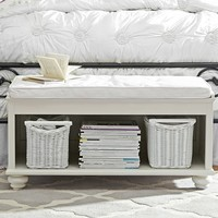 CHELSEA END OF BED BENCH + CUSHION