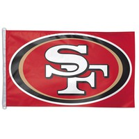 San Francisco 49ers NFL 3x5 Banner Flag (Red Background) (36x60)