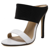 Night Stalker Contrast Mules