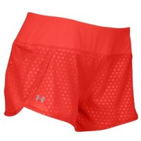 "Under Armour Heatgear 3"" Stretch Woven Shorts - Women's at Lady Foot Locker"