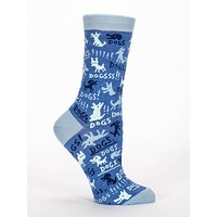 Dogs! Women's Crew Socks