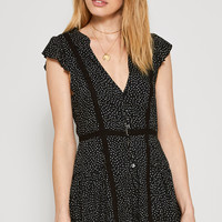 AMUSE SOCIETY - Violet Romper | Black Sands