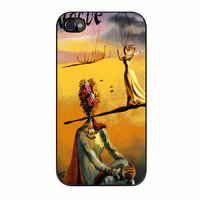 Salvador Dali Woman With Flower Head Vogue iPhone 4 Case