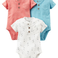 3-Pack Original Bodysuits