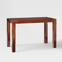 Parsons Desk with Drawers - Rosewood