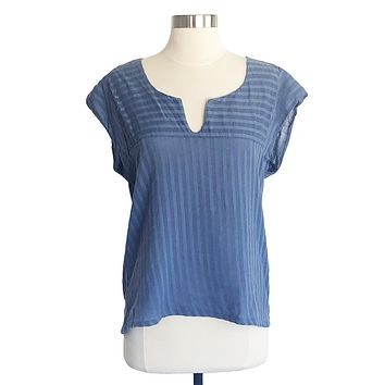 Bicyclette Top in Blue
