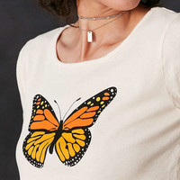 Truly Madly Deeply Butterfly Tee - Urban Outfitters