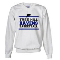 CafePress - Tree Hill Ravens Basketball - Sweatshirt