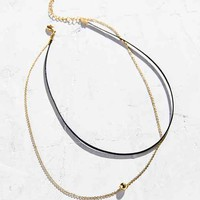 Forever Yours Black Choker Necklace