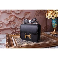 HERMES WOMEN'S CLASSIC LEATHER CONSTANCE INCLINED SHOULDER BAG