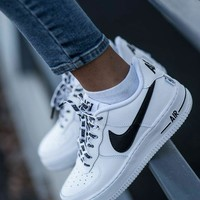 NBA x Nike Air Force 1 Low co-branded trend trend wild men and women casual shoes