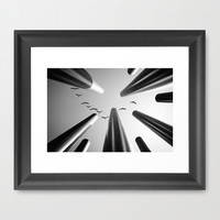 High above... Framed Art Print by SensualPatterns