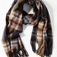 Plaid Blanket Scarf - Urban Outfitters