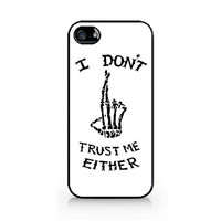 IPC-463 - I Don't Trust Me Either - Luke Hemmings T-Shirt - 5SOS - 5 Seconds of Summer - iPhone 4 / 4S / 5 / 5C / 5S / Samsung Galaxy S3