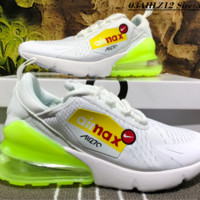 Nike Air Max 270 VAPORMAX FLYKNIT Casual Running Shoes Fluorescence