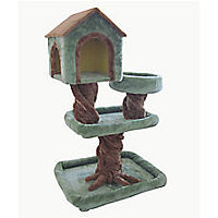 IRIS 3-Tier Treehouse Cat Tree