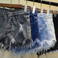 Distressed High Waisted Shorts, Many Colors & Sizes