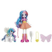 My Little Pony Equestria Girls Celestia Doll and Pony Set | Pet Figures for ages 5 YEARS & UP | Hasbro