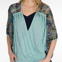 BKE Boutique Twisted Top