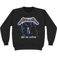 Metallica Men's  Lightning Sweatshirt Black
