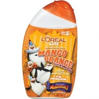 L'Oreal Kids Extra Gentle 2-in-1  Orange Shampoo, 9.0 Fluid Ounce (Packaging may vary)