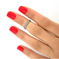 Vintage Small daisy flower ring  feet Ring joints ring for women