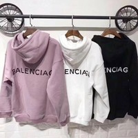 Balenciaga Long Sleeve Hedging Pullover Sweater Hoodies(6-Color) I-CN-CFPFGYS