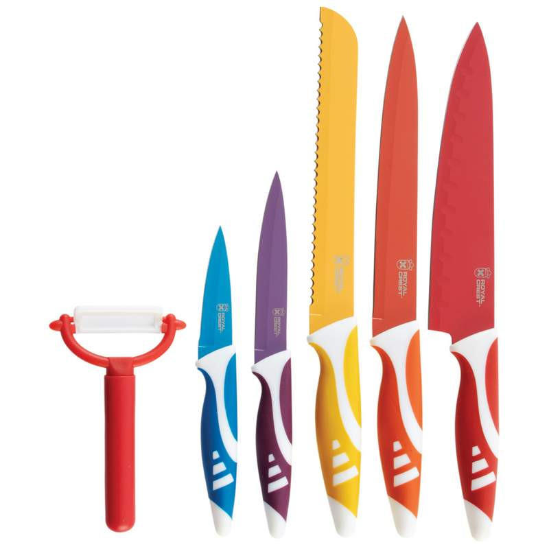 Image of Royal Crest 6pc Non-Stick Coated Cutlery Set