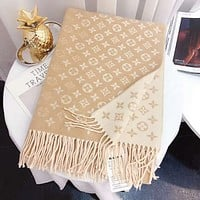 Inseva Louis Vuitton LV Woman Fashion Accessories Sunscreen Cape Scarf Scarves