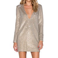 THE JETSET DIARIES Oasis Dress in Taupe