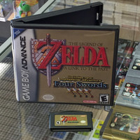 The Legend of Zelda: A Link to the Past (Includes Four Swords) - Game Boy Advance (Game & Custom Case)