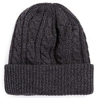 Topman Cable Knit Beanie | Nordstrom