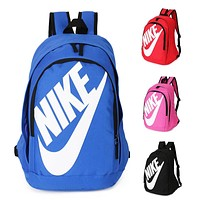 Nike Fashion Letters Sports Backpack 7 Color Sapphire Light Blue