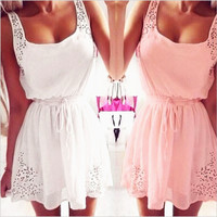 Fashion Cute Women Dress 2015 Summer Dress Party Evening Elegant Casual Basic Dresses Sundress Vestidos