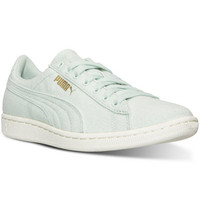 Puma Women's Vikky Canvas Casual Sneakers from Finish Line - Finish Line Athletic Shoes - Shoes - Macy's