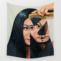 Normalization Wall Tapestry by Eugenia Loli