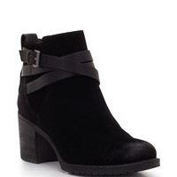 Hannah Suede Booties | Lord and Taylor