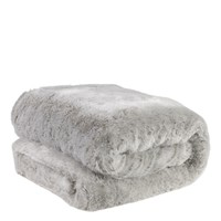 Light Gray Fur Throw | Eichholtz Alaska