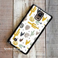 Cactus  Samsung Galaxy Note 4 Case Cover for Note 3 Note 2 Case