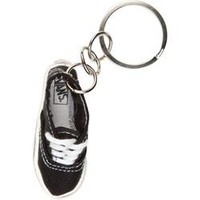 Vans Authentic Keychain (Black) ACCESSORIES Misc at Martini Northfield