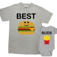 Father Son Matching Shirts Father Daughter Shirts Daddy And Me Outfits Dad And Son Gifts First Time Dad Gifts For Fathers Day - SA1134-1135