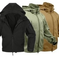 Rothco Special Ops Soft Shell Jacket, Coyote, Large