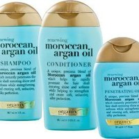 Renewing Moroccan Argan Oil 3 Pc Starter Kit
