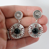 Boho Dangle Plugs Gauges Available in 8g, 6g, 4g, 2g, 0g, 00g, 4mm 6mm 8mm 10mm
