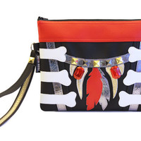 Bangarang! Clutch Bag With Wristlet | Rufio Hook Inspired Purse | Geek Chic
